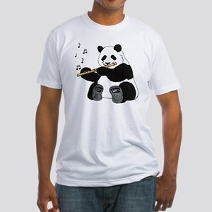 cafepress panda1 Fitted T-Shirt