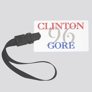 clintongore Large Luggage Tag