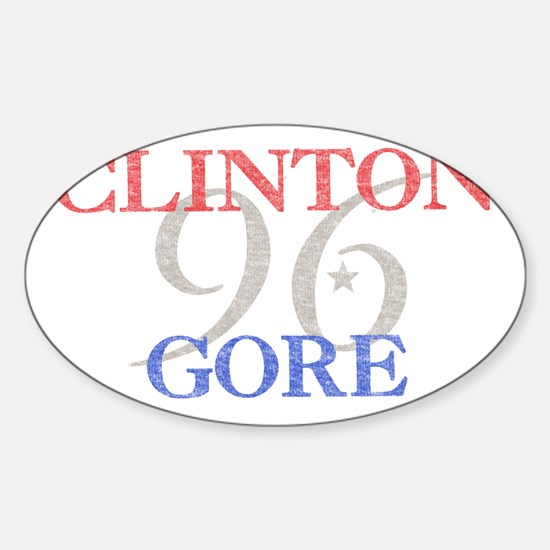 clintongore Sticker (Oval)