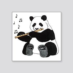 "cafepress panda1 Square Sticker 3"" x 3"""