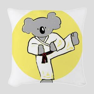 cafepress koala Woven Throw Pillow