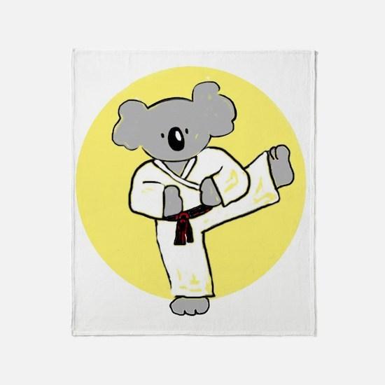 cafepress koala Throw Blanket