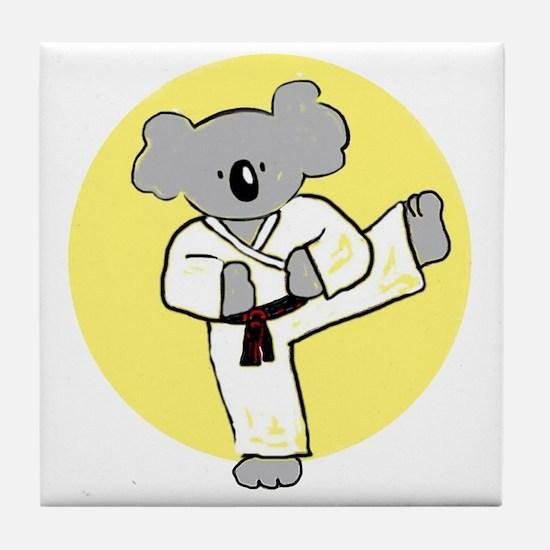 cafepress koala Tile Coaster