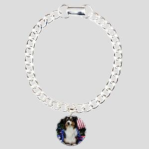 BELLEPATRIOTIC Charm Bracelet, One Charm