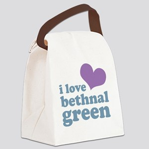 ilbethnalg-purp-blue Canvas Lunch Bag
