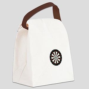 No Off Season Dart White Canvas Lunch Bag
