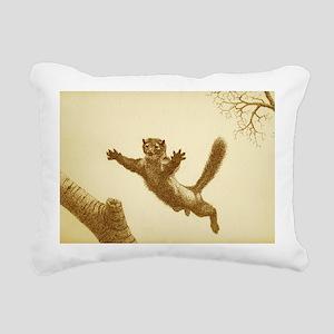 PINE MARTIN Rectangular Canvas Pillow