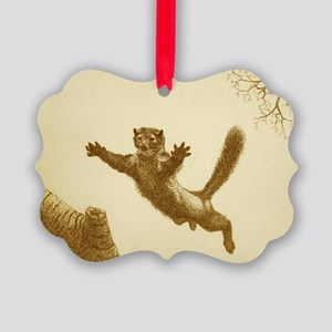 PINE MARTIN Picture Ornament