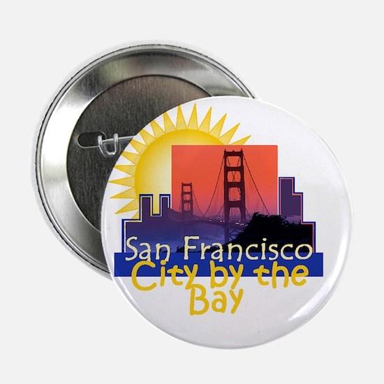 """San Francisco 2.25"""" Button"""