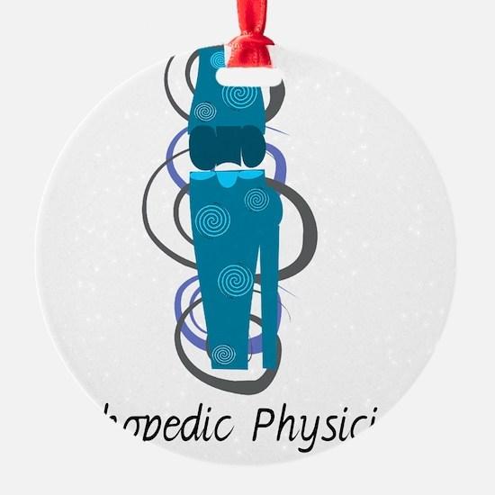 Orthopedic Physician BLUE KNEE Ornament