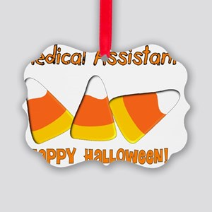 Medical Assistant Happy Halloween Picture Ornament