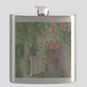 Flower Garden With Urn Flask