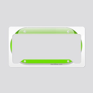 idk-green-cropped License Plate Holder