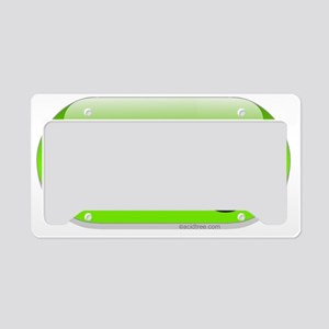 omg-green-cropped License Plate Holder