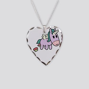 unicorncakes3 Necklace Heart Charm