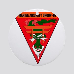 SSI-  MARINE AIRCRAFT GROUP 16 Round Ornament