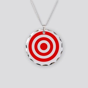 target Necklace Circle Charm