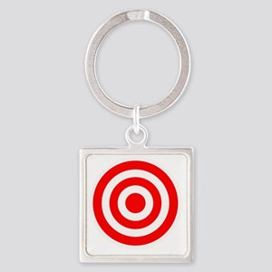target Square Keychain