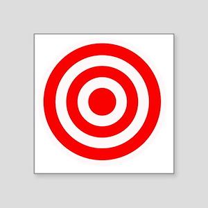 "target Square Sticker 3"" x 3"""