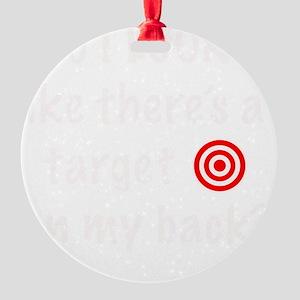 targetFrontDk Round Ornament