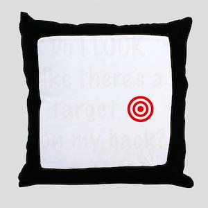 targetFrontDk Throw Pillow