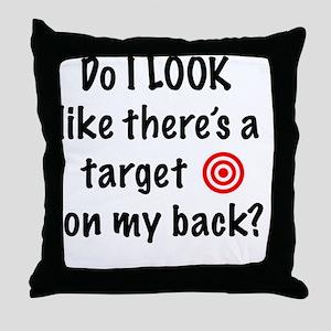 targetFront Throw Pillow