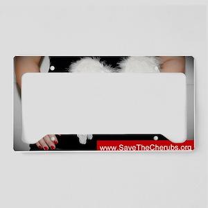SavetheCherubs-NguyenTom-Coll License Plate Holder