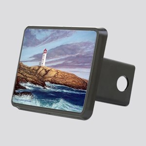 Peggys Cove Lighthouse  Rectangular Hitch Cover