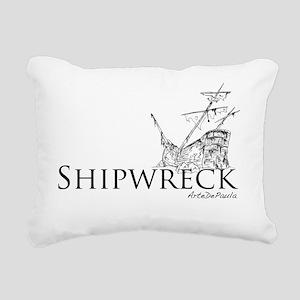 shipwreckblk Rectangular Canvas Pillow