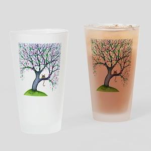 tree new york bigger Drinking Glass
