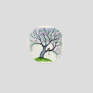 tree new york bigger Mini Button