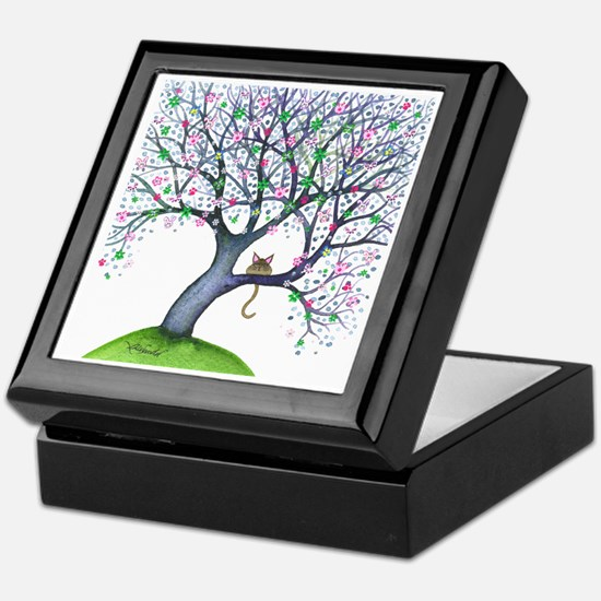 tree new york bigger Keepsake Box
