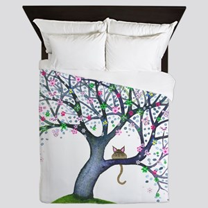 tree new york bigger Queen Duvet