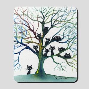 tree stray cats culpeper bigger Mousepad