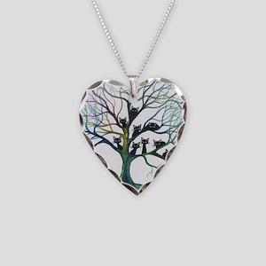 tree stray cats culpeper bigg Necklace Heart Charm