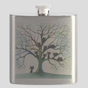 tree stray cats culpeper bigger Flask