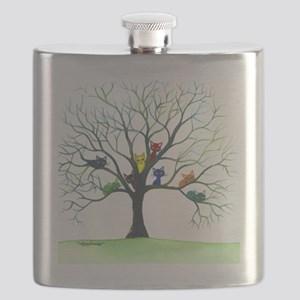 tree stray cats eau claire bigger Flask