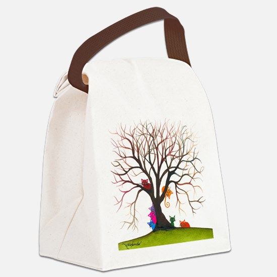 tree inglewood bigger Canvas Lunch Bag