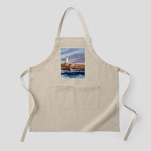 Peggys Cove Lighthouse tile coaster Apron