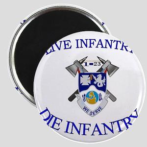1st Bn 23rd Infantry cap4 Magnet