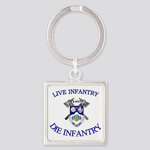 1st Bn 23rd Infantry cap4 Square Keychain