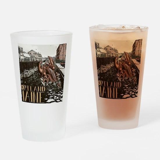 lobster attach Drinking Glass