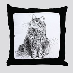mitty-4in Throw Pillow