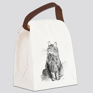 mitty-4in Canvas Lunch Bag
