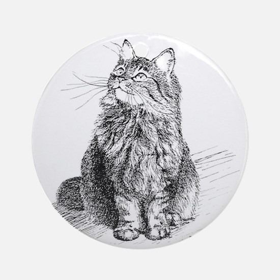 mitty-4in Round Ornament