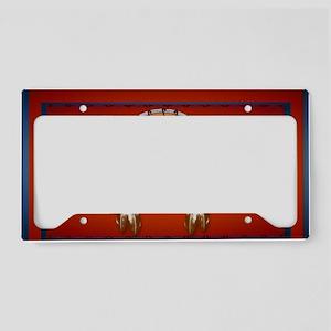 Wall Peel Horse n Arrows License Plate Holder