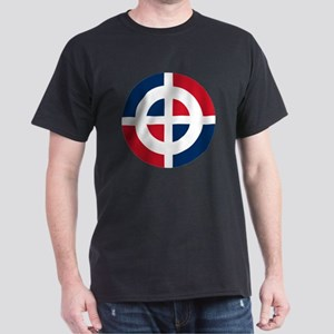 5x5-Dominican_Air_Force_roundel Dark T-Shirt