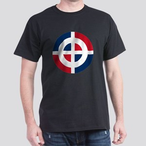 8x10-Dominican_Air_Force_roundel Dark T-Shirt