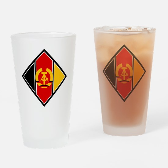 East Germany Roundel Drinking Glass