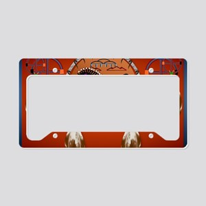 Yard SigN-Horse n Arrows License Plate Holder